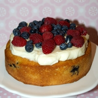 Madagascan Berry Vanilla Cake From Mich Turner.