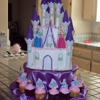 Castle Cake castle cake for my granddaughters 2nd birthday, she LOVED it....