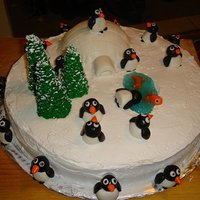 Penguin Christmas Got the idea for this cake on here. Thanks's fellow CCers.