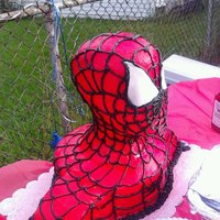 Spiderman My attempt at the 3D Spiderman cake for my son's 5th birthday! I know I would have never gotten thru this with out Lisa's blog....