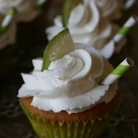 Margarita Cucakes Margarita flavored cupcakes with a lime curd filling and lime margarita buttercream.