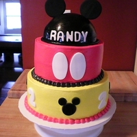 Mickey Mouse all fondant