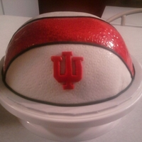 Basketball all fondant