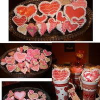 Valentines Cookies For Everyone NFSC valentine cookies decorated with glaze and icing.Special thanks to Bakinccc and Sharonk1973 who inspired me and gave me some tips also...