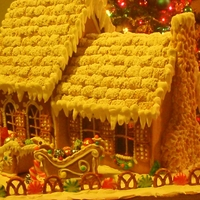 Our 2010 Gingerbread House This is the house i made for my little son last year :)