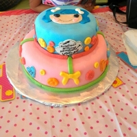 Lalaloopsy   Made this for my niece's 7th bd...it was so much fun.