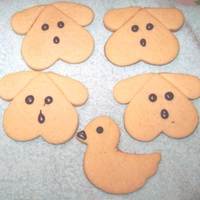 Dog And Duck Cookies. Thanks to JulijaDea for the inspiration.