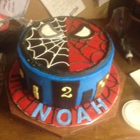 Spiderman/venom I did the top plate days in advance so it would dry and they could remove it for slicing ease(top was 50/50 gumpaste and fondant),buildings...