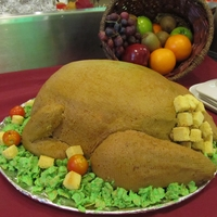 Turkey Cake My first realistic cake. Thanks to everyone who gave tips on how to make a turkey cake.
