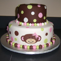 Monkey Cake Baby shower cake for a friend at work. TFL!