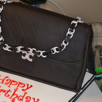 Chanel Bag Chanel bag birthday cake for a 50th birthday