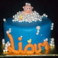 Baby, Bubbles, And Ducky Shower Cake This cake was for a dear friend who tried for a long time and finally concieved through IVF. The cake was part of a group of cupcakes and...