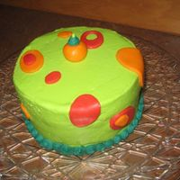 First_Cake.jpg  I'm starting my first Wilton Class on Saturday - very excited!!! I guess I'll get better at this with practice??? Any advice is...