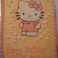 Hello Kitty Birthday This was the first cake I made for my daughter a couple of years ago, you would not believe how much effort I put into this little cake,...