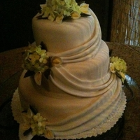 Wedding Cake gumpaste flowers