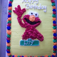 Elmo friends daughters birthday. All BC