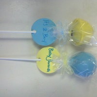 Cake Pops! Cake pops made with babycakes cake pop machine.