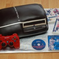 Ps3 PS3 Gumpaste controller and edible images for games