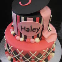 Girlie Pirate Cake