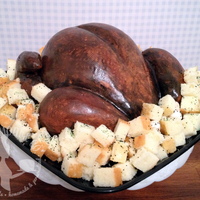 Thanksgiving Turkey Cake This special Thanksgiving Turkey cake fooled several people who were expecting dinner instead of dessert! Hand-carved cake made up the...