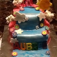 Children's Birthday Cake My Little Pony My little Pony Cake I made for my little niece. Fondant decor and buttercream icing