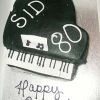 Piano Cake Piano cake I did at Cakes On Demand for my piano teacher