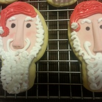 Santa And Mrs Cookies