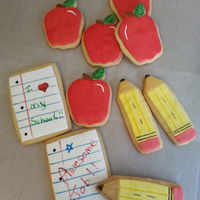 Back To School Cookies back to school cookies
