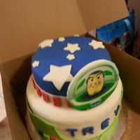 1St Birthday Cake buzz lightyear for 1 year old birthday