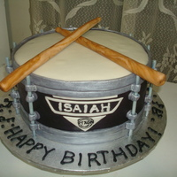 Drum Cake For Isiaah