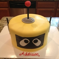 Plex Plex cake for a yo gabba gabba party