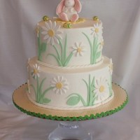 Easter - Spring Cake I credit this design to springlakecake. I loved this cake and have always wanted to do it, so thank you for the beautiful design!