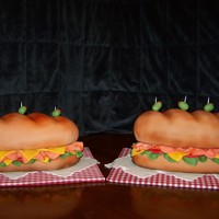 Sub Sandwiches Made some subs for couple of local fundraisers