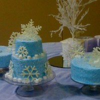 Winter Wonderland Father Daughter Banquet Cakes