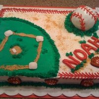 Baseball Birthday Baseball Birthday Cake