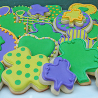St Patricks Day Cookies My First Time Decorating With Royal Icing Using Piping And Flooding Techniques St. Patrick's Day Cookies. My first time decorating with royal icing using piping and flooding techniques.