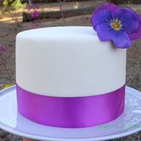 Pansy Cake A Maggie Austin design but with different colors.