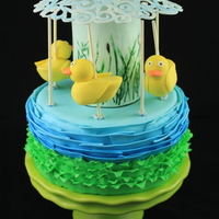 Carousel Duck Cake For My Son Great Except That The Sticks Holding The Ducks Werent Long Enough And The Top Needed To Be Larger But H Carousel duck cake for my son. Great except that the sticks holding the ducks weren't long enough. :) And the top needed to be larger...