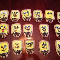 Spongebob Personalities I love decorating cookies with lots of precision and detail, but I *also* love working on them with my kids (all under the age of 2 to 5...