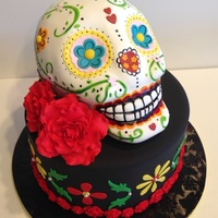 Day Of The Dead Cake Day of the dead cake