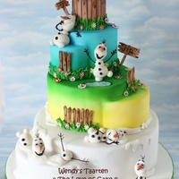 My Olaf In Summer Cake Inspired By The Song In Frozen My olaf in summer cake. Inspired by the song in frozen.