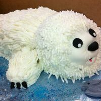 Harp Seal This was a cake for a High School Marine Biology class