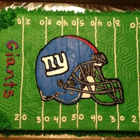 Ny Giants 2012 Super Bowl Xlvi Champs Made this cake for a serious Giants fan. he was so confident that they would win the Super Bowl that he only wanted a Giants cake for his...