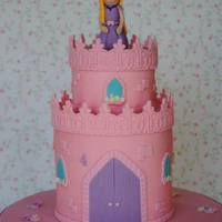 Littles Princess Castle Cake
