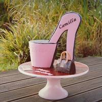 Scuplted High Heel Cake- As An Armchair