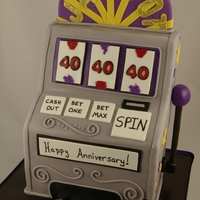 Slot Machine All fondant. TFL!