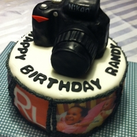 Nikon Photography Camera Cake camera is made out of RKT