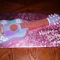 Hannah Montana Guitar went along with CD cookies