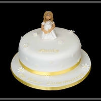 Communion Cake communion cake sugar paste figure
