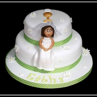 Two Tiered Communion Cake two tiered communion cake